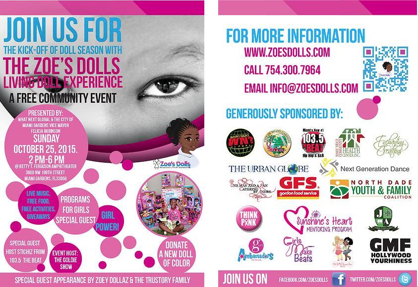 Zoe's Dolls Living Doll Experience 2015
