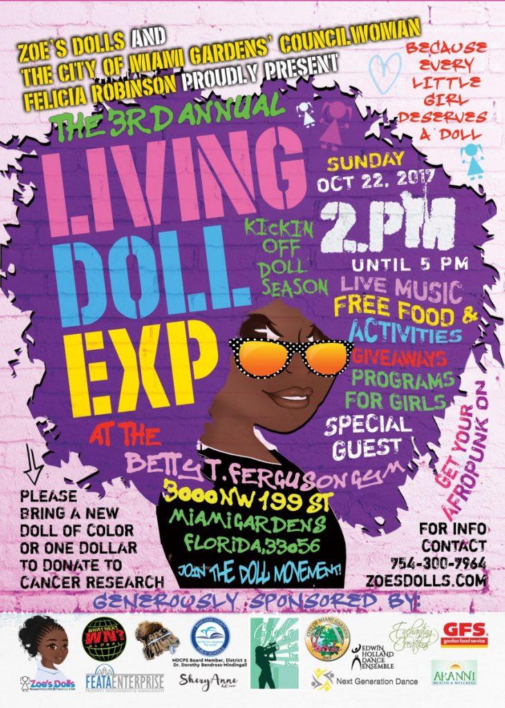 2017 Living Doll Flyer